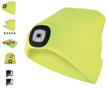 BERRETTI A LED RIC.GIALLO LIME
