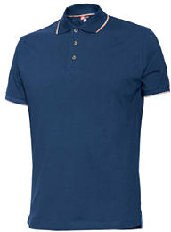 POLO STRETCH 8189 BLU  M