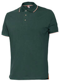 POLO STRETCH 8189 VERDE  M
